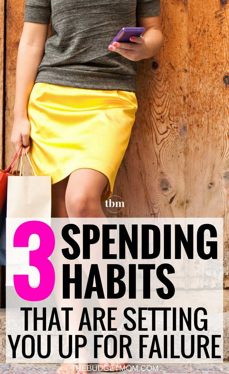 We are all guilty of a few bad habits. Spending money is probably one of them. Here are 3 bad spending habits that are setting you up for failure and how to avoid them.