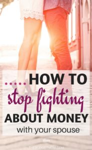 Stop pointing an invisible finger. If money is causing tension in your relationship, look at how you're communicating about it.