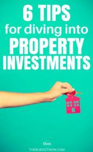 Real estate investing can be a scary thing. Use these six tips to help you get started on building a property portfolio - the right way!
