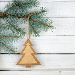 10 Affordable DIY Christmas Tree Decorations