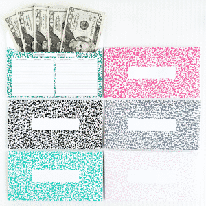 Do you use the cash envelope method for your budget? Organize your cash and stick to your budget by keeping track of your cash spending. These are great for the Dave Ramsey budget system.