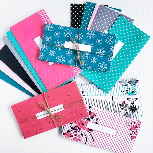 Horizontal Cash Envelope Bundle FEATURE 2