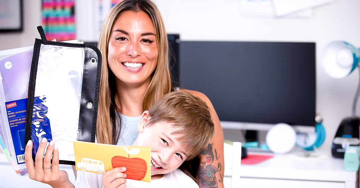 I love the fact that I no longer fall victim to debt for the things my son and I need. By making a plan, being creative, and saving in advance, I'm able to get everything for back-to-school without going over budget or using credit cards. You can too.